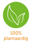 100% plantaardig